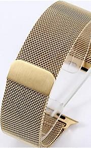 42 milímetros contendo vinculador relógio de pulso de aço inox magnético para relógio de maçã