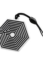 exo Überdosis Logo Marke Telefon Staubstecker