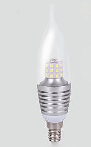 7W E14 LED-kornpærer T 35 SMD 2835 700 lm Varm hvit / Kjølig hvit Dekorativ AC 220-240 V 1 stk.