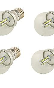 4W E26/E27 LED-globepærer A60(A19) 20 SMD 2835 360 lm Kjølig hvit Dekorativ AC 85-265 / AC 220-240 / AC 100-240 / AC 110-130 V 4 stk.