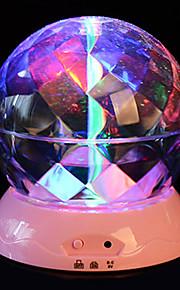 1 개 배터리 확률 패턴 밤 빛 램프 국내 프로젝터 램프 수정 구슬 야간 빛을 회전