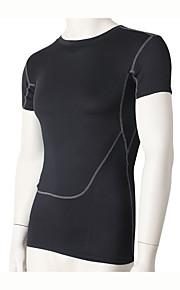 Hardlopen Sweatshirt / Compression Suit Heren Korte Mouw Ademend / Sneldrogend / Compressie / Zweetafvoerend Fitness / Hardlopen Sportief