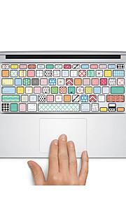 1 kpl Naarmunkestävä Läpinäkyvä muovi Tarrakalvo Matte / Piirroshahmo / Ultraohut VartenMacBook Pro 15 '' kanssa Retina / MacBook Pro 15