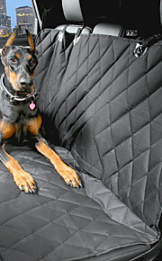 Dog Car Seat Cover Pet Carrier Waterproof / Portable Black Cotton