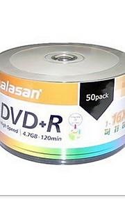 Arita série lala montanha dvd-r 16x 50pcs 4.7GB DVD em branco para impressão