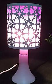 enchufe del eu lámparas del aroma tocan hierro sensor de lámpara de mesa decorativa