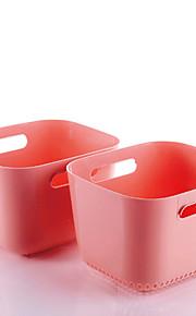 égoutter et laver les fruits et légumes bassin cuisine pots / outils / plastique (2 pièce)