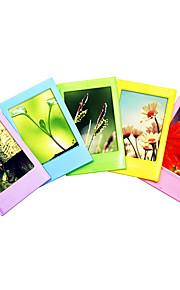 mini øjeblikkelig film tilbehør bundt sæt (fotoalbum / film grænserne klistermærker / væg hænger billeder / filmbilleder / hals strop)
