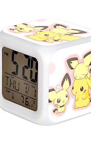 Cartoon Pet Colorful Luminous Alarm Clock-13#