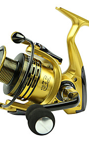 Spinning Reels 5.5/1 13 Ball Bearings Exchangable Bait Casting / General Fishing-XF5000 Yumoshi