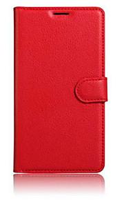 WIKO 발열 스페셜 에디션 휴대 전화에 대한 양각 PU 가죽 카드 브래킷 보호 슬리브