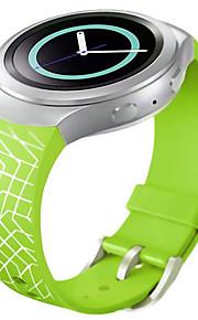 смарт-часы Силиконовый ремешок для часов образец сетки для Samsung Galaxy s2 шестерни