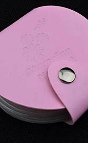 Nail Printing Template Card Pack Card Sets Circular Steel Template Sets Card Sets 4 Colors Mixed Batch