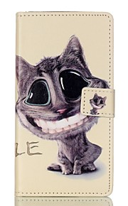 Full Body Wallet / Card Holder / with Stand / Flip Cat PU Leather Hard Case Cover For HuaweiHuawei P9 / Huawei P9 Lite / Huawei Honor 5C
