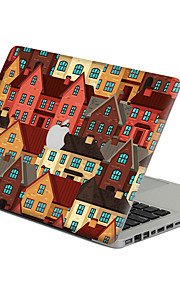 1 pièce Anti-Rayures En Plastique Transparent Ecran de Protection Avant Image de Cartoon PourMacBook Pro 15 '' avec Retina / MacBook Pro