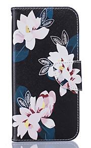 Hel kropp Korthållare / Flip Other PU-läder Mjuk Card Holder Fallet täcker för Samsung Galaxy S7 edge / S7 / S6 edge / S6 / S5