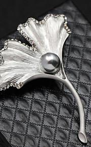 engel fløj krystal broche