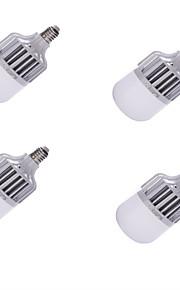 15W E26/E27 LED-globepærer A60(A19) 24 SMD 5630 1300 lm Kjølig hvit Dekorativ AC 220-240 V 4 stk.