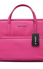 13inch multifuction zakelijke laptop tas / sleeve zwart / roze