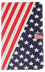 PU Leather Material American Flag Pattern Tablet Sleeve for Galaxy Tab T280/T350/T377/T550/T560/T580/T815