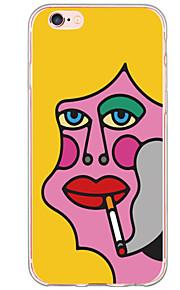 Funda Trasera Ultra-Fino / Traslúcido Punk TPU Suave Cubierta del caso para Apple iPhone 6s Plus/6 Plus / iPhone 6s/6 / iPhone SE/5s/5