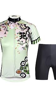 PALADIN Fahhrad/Radsport Kleidungs-Sets/Anzüge Damen Kurze ÄrmelAtmungsaktiv / UV-resistant / Rasche Trocknung / Videokompression /