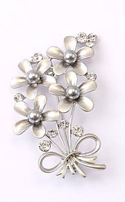 europæiske og amerikanske mode zircon perle broche serie 025