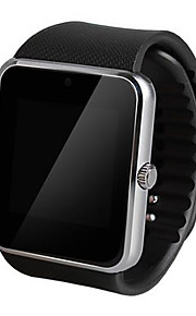 Heren Slim horloge Digitaal Aanraakscherm / Afstandsbediening / Kalender / alarm / Stappenteller / Fitness trackers / Stopwatch Rubber