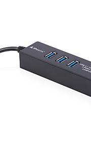 JSJ® Cat 6e UTP-USB 3.1 Type C 0,1 m (0.3Ft)