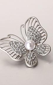 europæiske og amerikanske mode zircon perle broche serie 016
