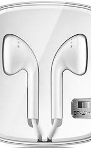 Meizu ep21-HD אוזניות אוזניות לבנות עם שליטה קולית מיקרופון עבור פתק Meizu 3 / MX6 / הערה 2 / פרו 6 / 3s