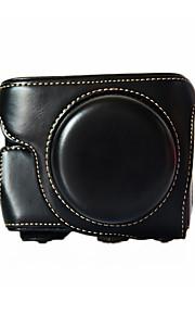 Digital Kamera-Taske-Panasonic-Sort / Kaffe / Brun