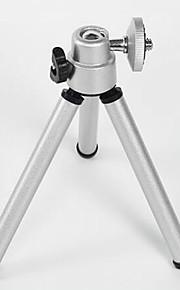 Enze mini-mesa de suporte de tripé de alta qualidade cabeça do tripé seção de metal tubo de alumínio
