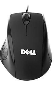 Dell Laptop Wired USB Optical Mouse DPI 1200