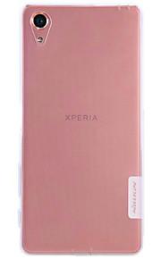 Skal Stötsäker / Ultratunn / Bisque Solid Färg TPU Mjuk Fallet täcker för Sony Sony Xperia XA / Sony Xperia Z5