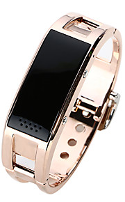 Titanium Alloy Women Smart bluetooth Wrist Watch Bracelet for Andriod and IOS