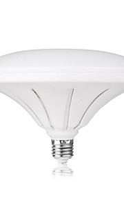 36W E26/E27 Lâmpada Redonda LED R80 72 SMD 5730 3000LM lm Branco Quente / Branco Frio Decorativa / Impermeável AC 220-240 V 1 pç