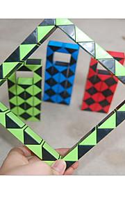 Legetøj / Magiske terninger Magisk Board / Magic Toy Glat Speed Cube Magic Cube puslespil Regnbue Plastik