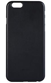 Bagcover Ultratynd / Glaseret Helfarve PC Hård Tilfælde dække for Apple iPhone 6s Plus/6 Plus / iPhone 6s/6