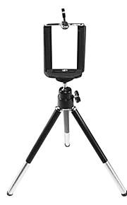 selv-metal aluminium digitalt kamera stativ stativ klip æble samsung hirse telefon universal