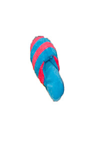The dog dog plush toys Pet toys stripe slippers resistance to bite