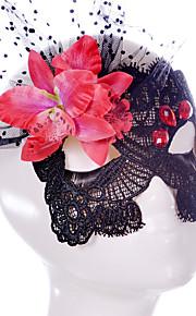 Lace Mask 1pc Holiday Party Decorations Masques Cool / Mode Taille unique Noir Dentelle