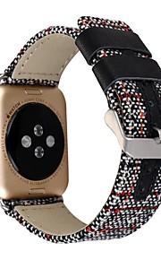 Newest Canvas Linen Sport Band Men And Women Cowboy Watchband For Apple Watch Watchband 38mm 42mm