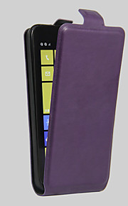 Cuerpo Completo Soporte de Tarjeta / A Prueba de Golpes / A Prueba de Polvo Color Sólido Cuero Sintético Duro Cubierta del caso para Nokia
