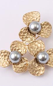 europæiske og amerikanske mode zircon perle broche serie 019