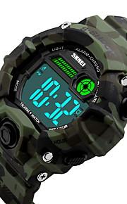 Masculino / Mulheres Relógio Esportivo Digital LCD / Calendário / Impermeável / alarme / Luminoso / Cronômetro / Resistente ao Choque