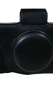 Bolsa-Preto / Café / Marrom-Á Prova-de-Pó-Um Ombro-Canon-Câmara Digital