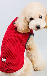 Autumn and Winter Christmas Pure Color Red Blue Dog Sweater Dog Clothes for Pet Dogs