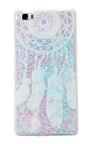 כיסוי אחורי מזרימים חול טובעני נוזלי / Other לוכד חלומות PC קשיח Case כיסוי Huawei Huawei P8 Lite