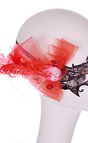 Lace Mask 1pc Holiday Party Decorations Masques Cool / Mode Taille unique Rouge Dentelle